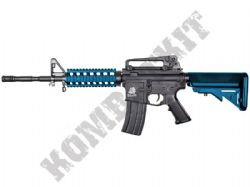 SR4PG Sportline M4 RIS Airsoft Rifle Electric AEG BB Machine Gun Black & 2 Tone